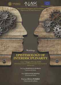 manifesto 50x70 EPISTEMOLOGY OF INTERDISCIPLINARITY
