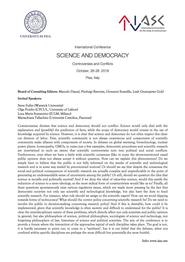 Pisa IASC Conference Full page 1 june 2016